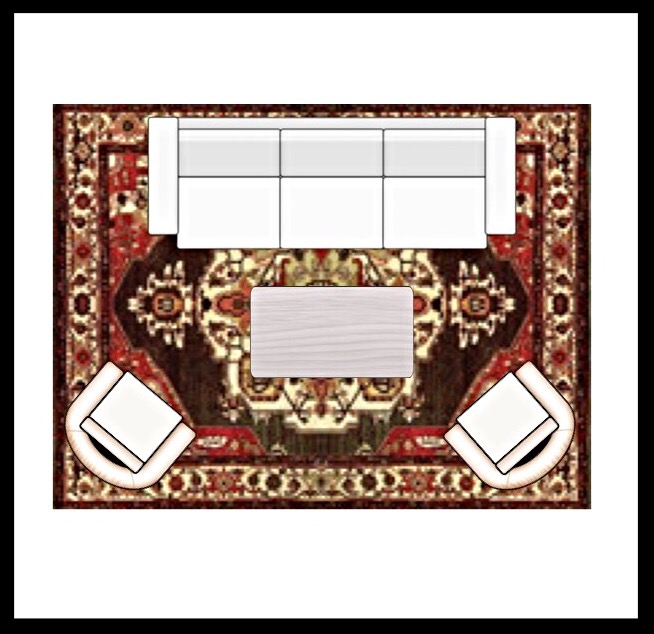 choosing the right area rug size for your living space styling your